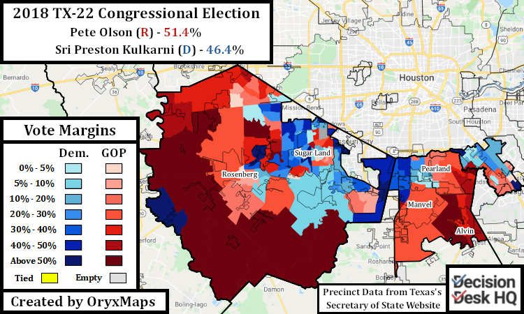 2018 Congressional Election in TX-22